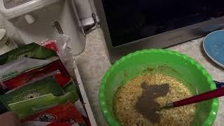 Курица с перцем в соусе, лайфхак: мои запасы колбасы*легкая готовка*легкий рецепт*холостяцкая кухня