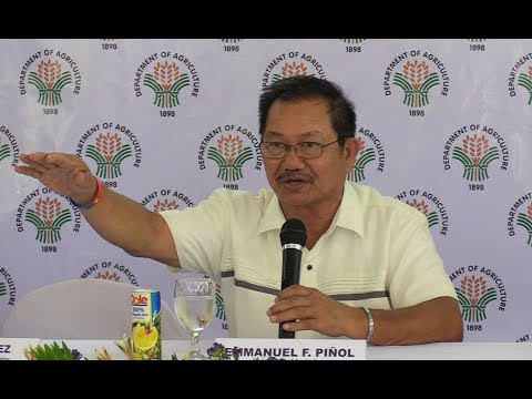 Piñol: Duterte asked to increase NFA buffer rice stock to 60 days, buy local grains