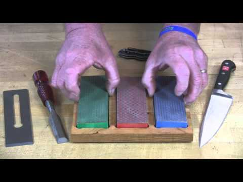 Video of 6-inch Diamond Whetstone™ Kit
