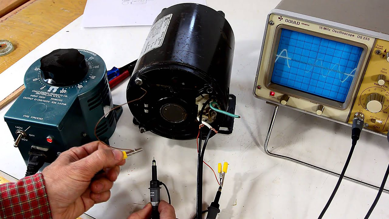 hight resolution of reversing single phase induction motors