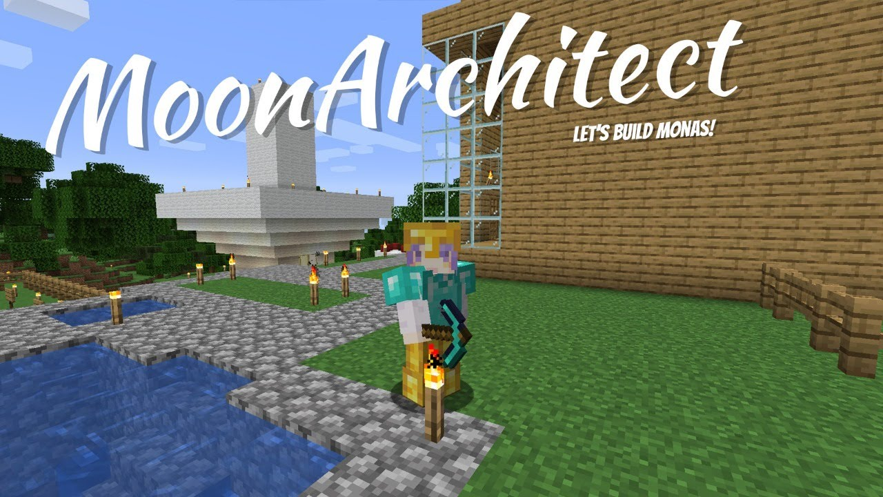 【Minecraft】Building time! Let's make Monas!【Moona】