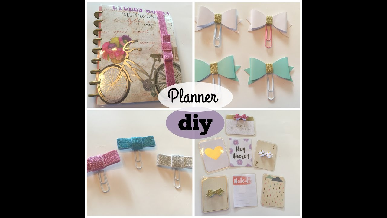 DOLLAR TREE Planner DIY: April Cover + Paperclips + Journaling Cards ...