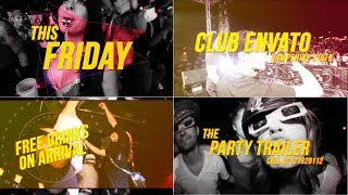 Party Trailer ( After Effects project ) ★ AE Templates ★ 2018