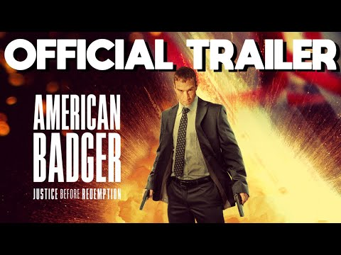 AMERICAN BADGER Official Trailer 4K HD— On Demand June 15th, 2021
