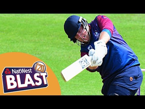 Raining Sixes At Trent Bridge - Nottinghamshire v Northamptonshire NatWest T20 Blast 2017