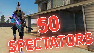 SOLO VS SQUAD || 50 SPECTATORS || TERROR OF M82B !!!!