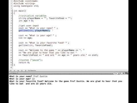 C++ Extraction Operator, getline and cin.ignore()