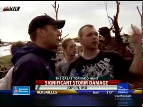The Weather Channel - Joplin Tornado Coverage - 5/22/2011 7:30-8:55pm EDT