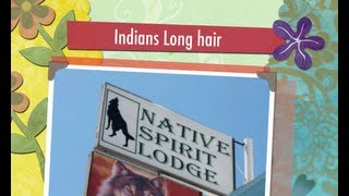 The Native Spirit Lodge Indians Long hair video 18