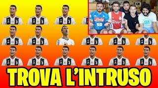 ⚽🤔 TROVA L'INTRUSO! | QUIZ SUL CALCIO w/ FIUS GAMER, ENRY LAZZA e TATINO23!