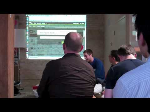 Hacks/Hackers Toronto - Demo by Thoora
