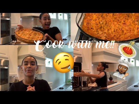 COOK WITH ME: ITALIAN PASTA AL FORNO🍝👩🏽🍳 (ethiopian style)