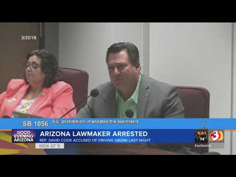 VIDEO: Arizona lawmaker arrested on suspicion of Extreme DUI, gets license suspended
