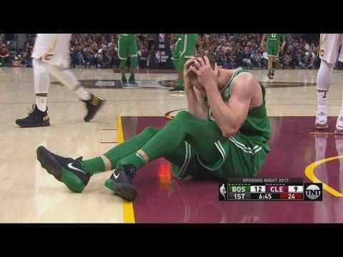 Desgarradora lesión sufrida por Gordon Hayward en el inicio de la NBA