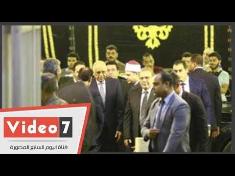 فنانون وسياسيون يشاركون في عزاء شقيقة حسن راتب  - 00:56-2018 / 9 / 15