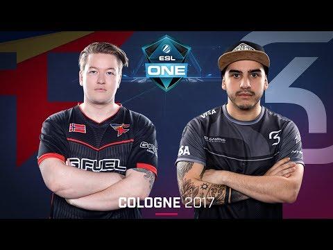 CS:GO - FaZe vs. SK [Cache] Map 2 -Semifinal - ESL One Cologne 2017