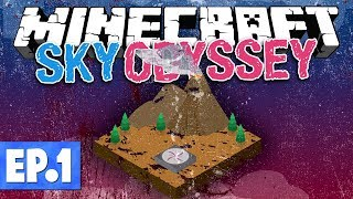 Minecraft FTB Sky Odyssey - A DIFFERENT KIND OF SKYBLOCK! #1 [Modded Questing Survival]