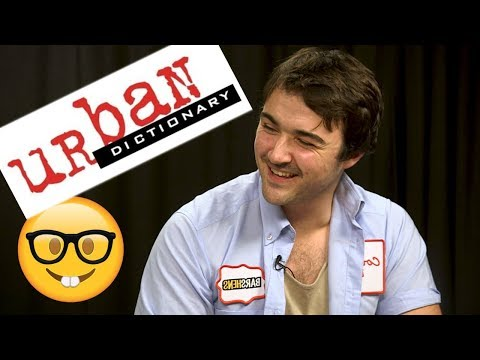 Urban Dictionary Quiz | Barshens
