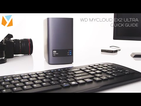 WD MyCloud EX2 Ultra Quick Guide - YouTube