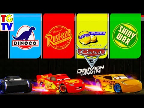 Cars 3 Driven To Win - Lightning McQueen & Cruz VS Jackson Storm Pro Mixed Race Cup