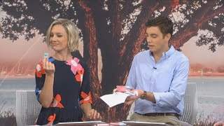 Breakfast presenters discuss criticism of Whittaker's pink, blue chocolate