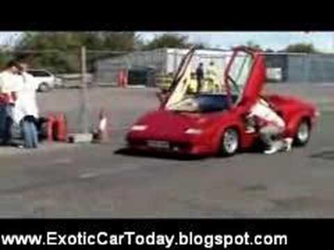Lamborghini Countach 0 60 Run Youtube