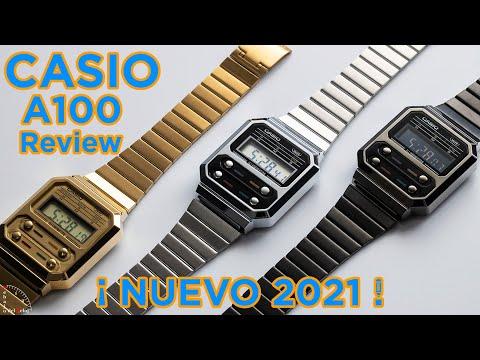 VÍDEO DETALLES CASIO A100