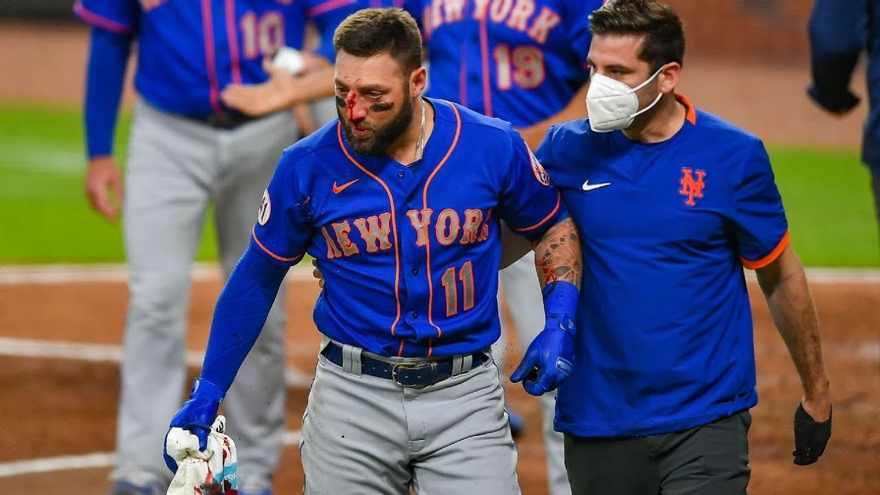 Another injury scare for Jacob deGrom, who leaves NY Mets game ...