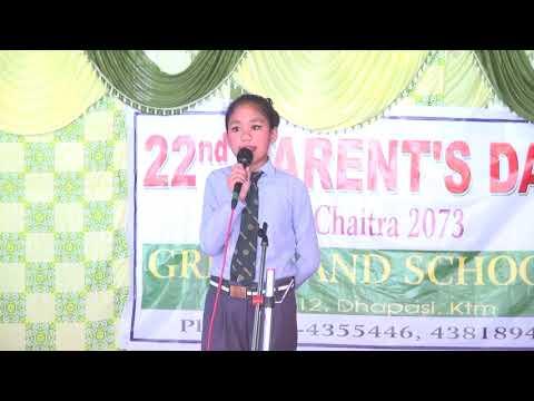 Aama : sneha gurung || greenland high school