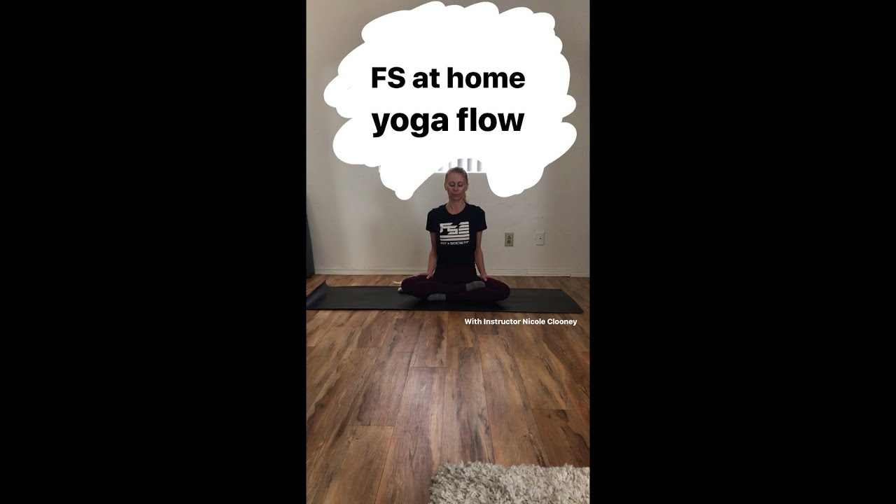 At Home Yoga Flow #1 w/ Coach Nicole Clooney