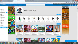 roblox for free item promocode