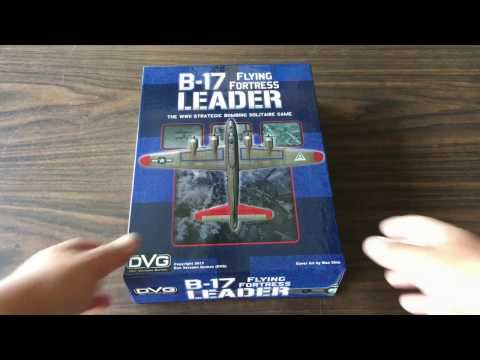 B-17 Flying Fortress Leader Unboxing