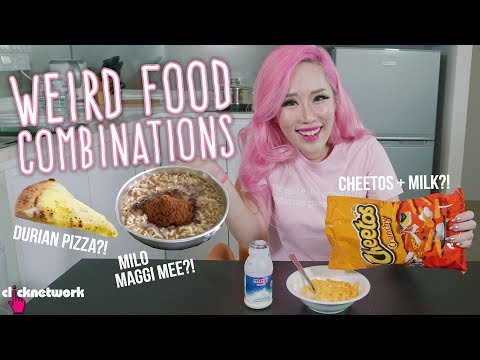 Weird Food Combinations - Xiaxue's Guide To Life: EP203