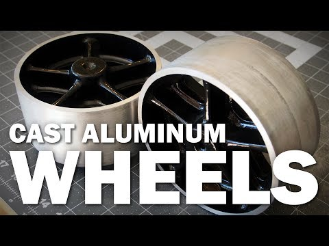 Casting Aluminum Wheels | Old Timey Casters