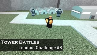 Sci-Fi Army: Hardcore | Loadout Challenge #8 | Tower Battles [ROBLOX]