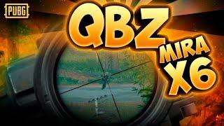 QBZ CON X6 Y SILENCIADA COMBAZO - DUO - PLAYERUNKNOWN'S BATTLEGROUNDS (PUBG) GAMEPLAY  - Carranco