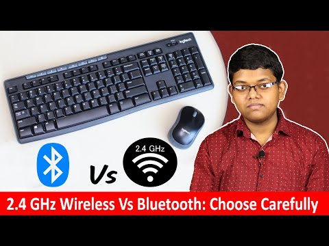 2.4 GHz Vs Bluetooth Keyboard & Mouse: Which One Should You Buy?