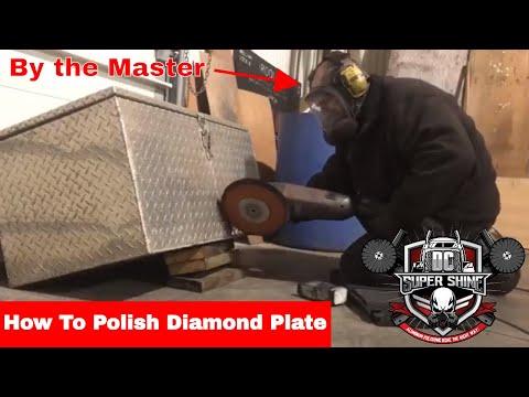 DIY How to polish Diamond Plate no BS