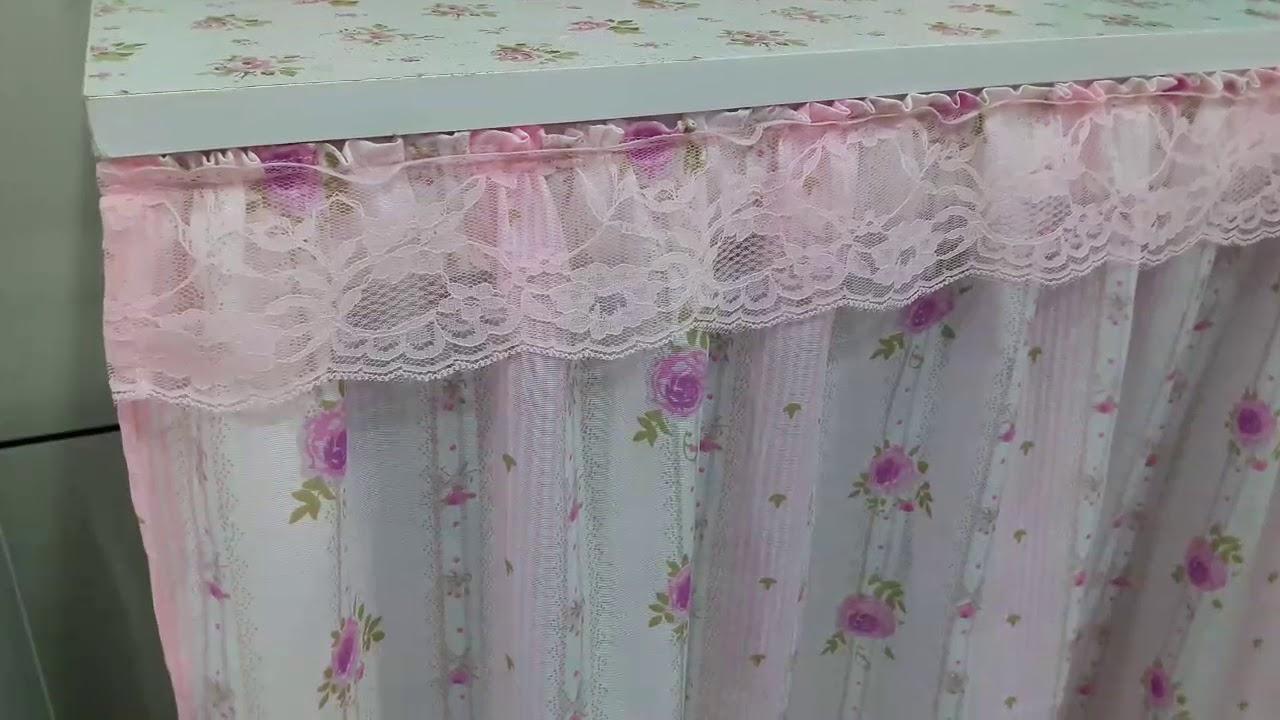 Como prendi a cortina da pia youtube - Formas de cortinas ...