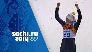 Ski Jumping - Ladies' Normal Hill - Carina Vogt Wins Gold | Sochi 2014 Winter Olympics