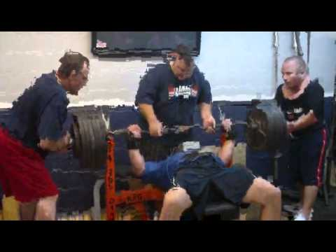 Chris Melillo bench workout 2 board max effort - Aug 6, 2011 Kingdon Power Gym