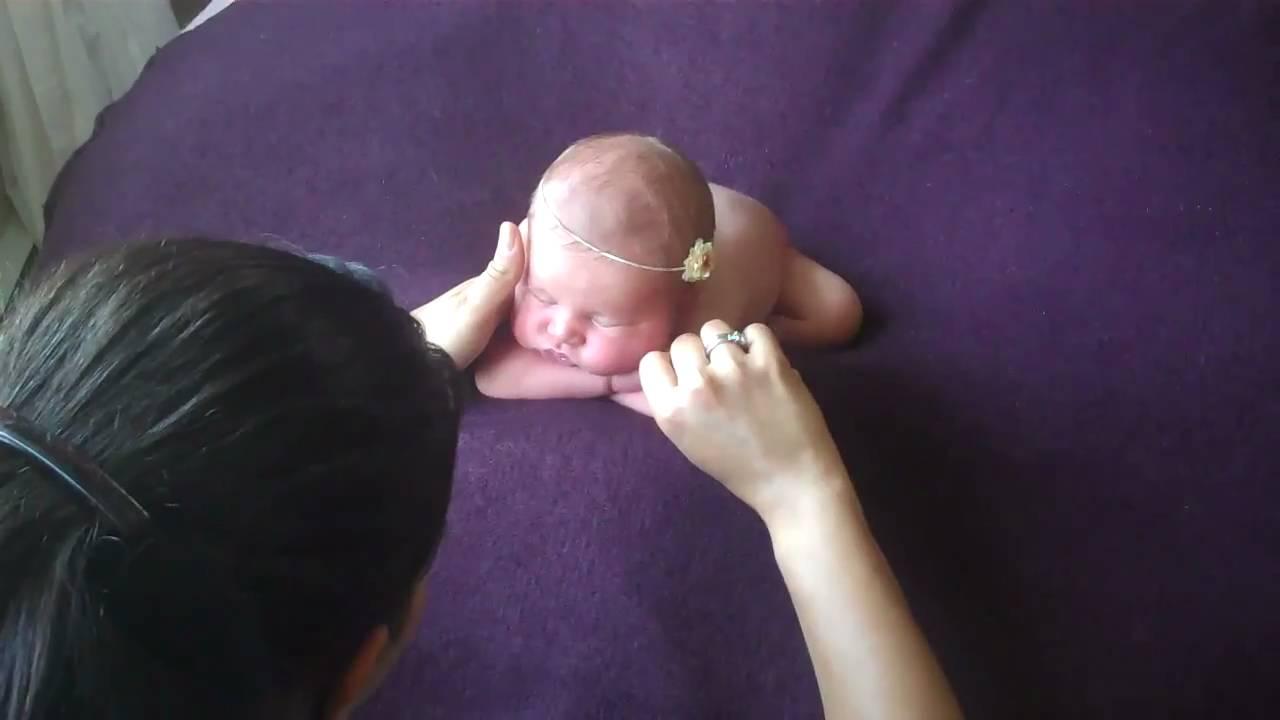 Newborn Posing Behind The Scenes Youtube