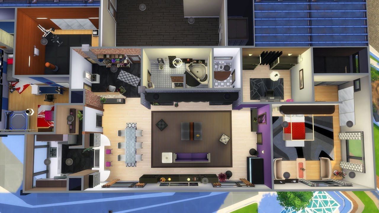Sims 4 apartment renovation 930 medina studios youtube for Apartment renovation plans