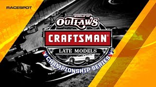 World of Outlaws Craftsman Late Model Championship Series | Round 4 at Knoxville