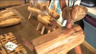 Repeat youtube video Kentucky Farm Bureau's Bluegrass & Backroads: Rustic Minded Furniture
