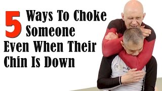 When you attack with a choke your opponent will often try to block ...