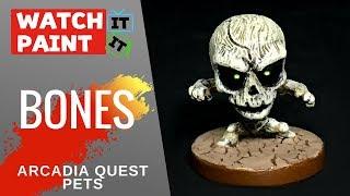 Arcadia Quest Pets - Painting Bones (Skeleton)