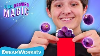 Rehydrating Raisins Trick | JUNK DRAWER MAGIC