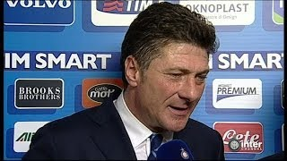INTERVISTA WALTER MAZZARRI POST INTER-BOLOGNA