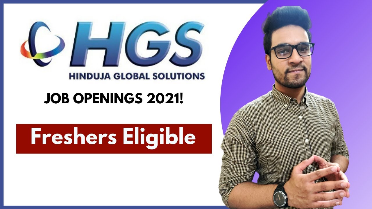 HGS Jobs For Freshers | Fresher Jobs | Private Job Vacancy | Fresher Job Openings